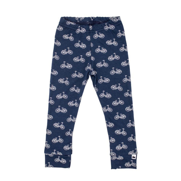 Baby/Kid's Bamboo/Cotton Leggings | Navy Cruiser
