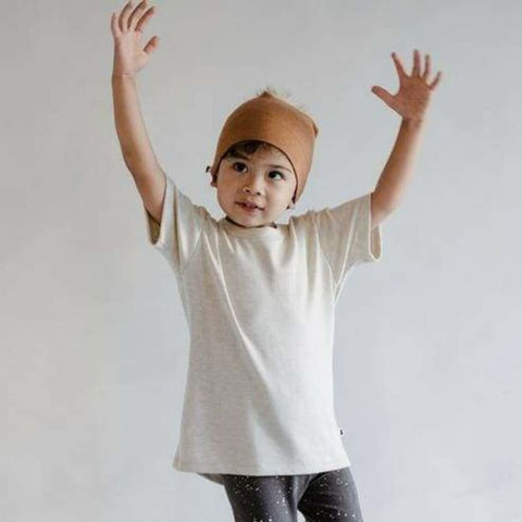 Baby/Kids Bamboo/Cotton T-Shirt | Ash Kids T-Shirt Little & Lively Canada