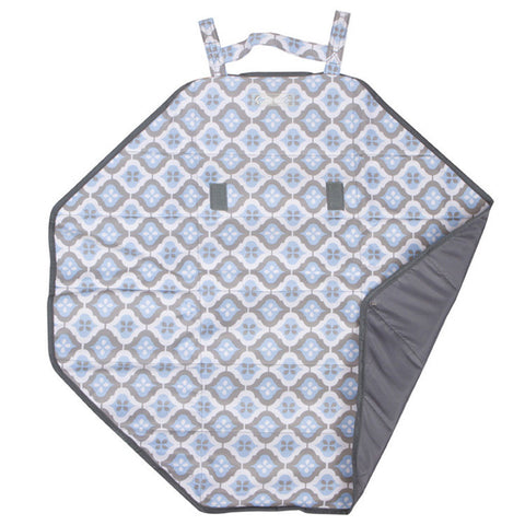 Bum & Tum Mini Mat in Sky Blue Montage