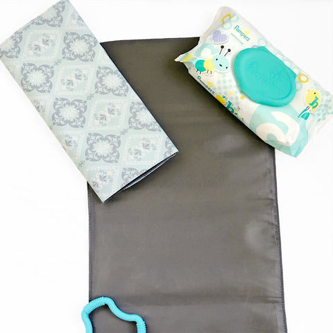 Changing Pad in Majestic Mint