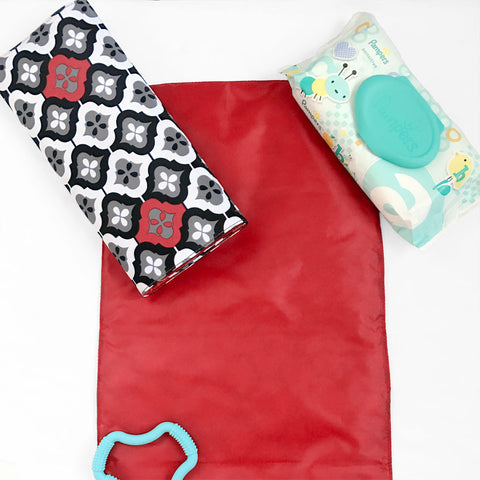 Changing Pad in Royal Ruby Montage