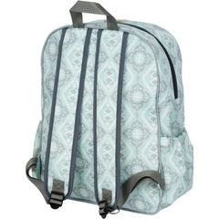 diaper backpack back view