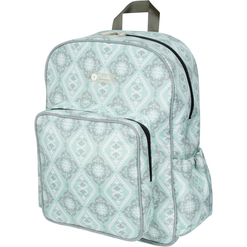 diaper backpack in mint