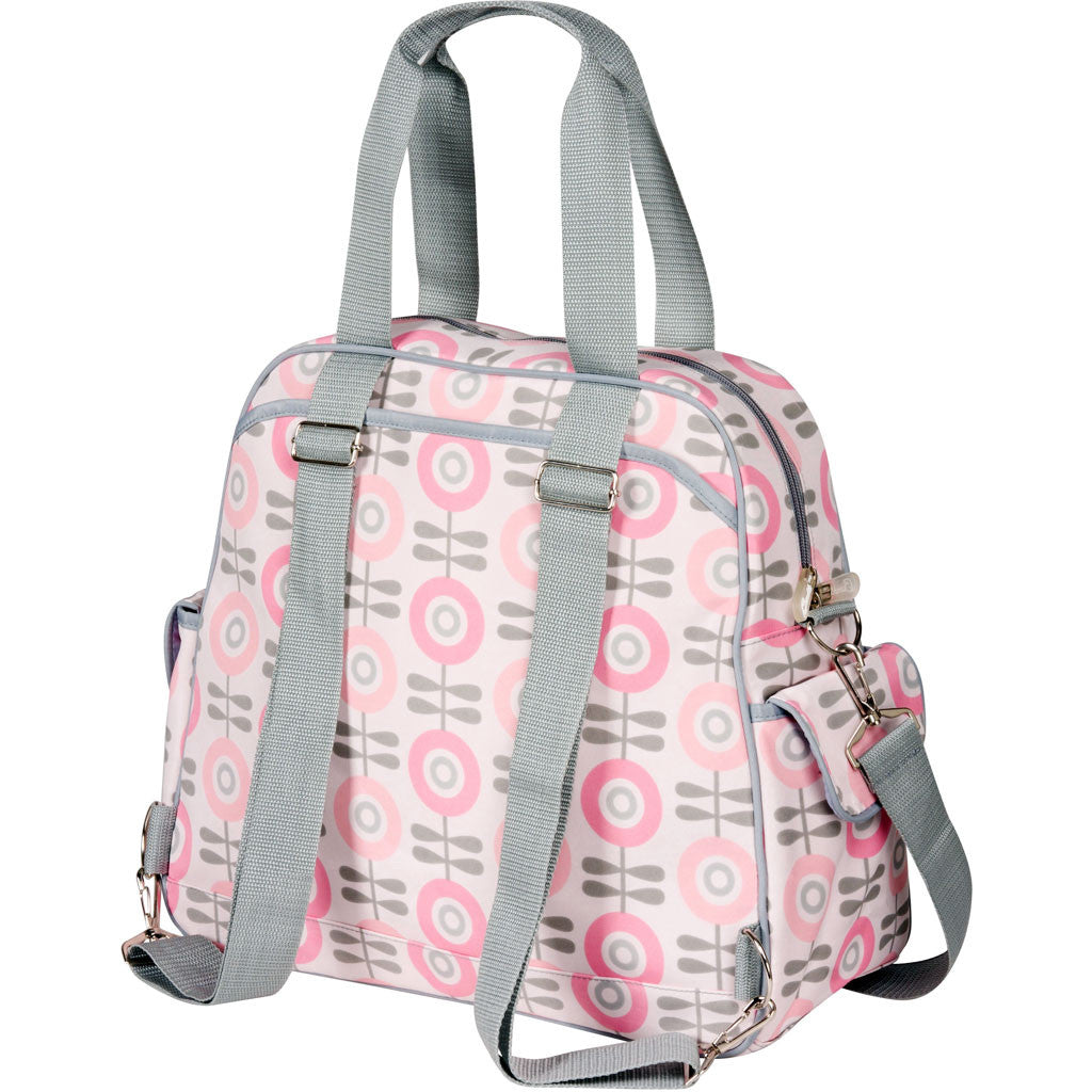diaper bags baby bags lunch bags  bumble collection - brittany backpack in modern floral home · diaper bag