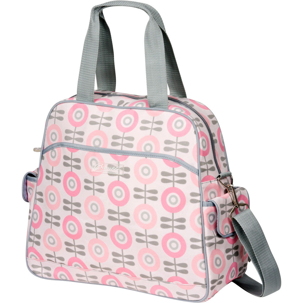 diaper bags baby bags lunch bags  bumble collection - brittany backpack in modern floral
