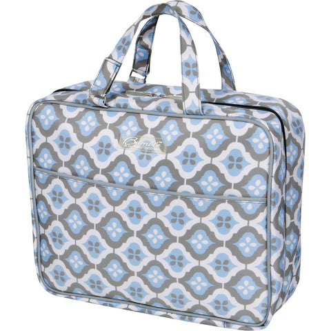On-the-Go Bag in Sky Blue Montage