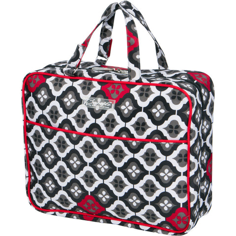 On-the-Go Bag in Royal Ruby Montage