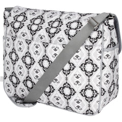 diaper bag messenger back view
