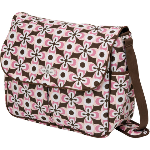 Amber Tote in Pink Geo