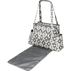 diaper bag tote with changing pad