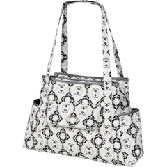 diaper bag tote in grey