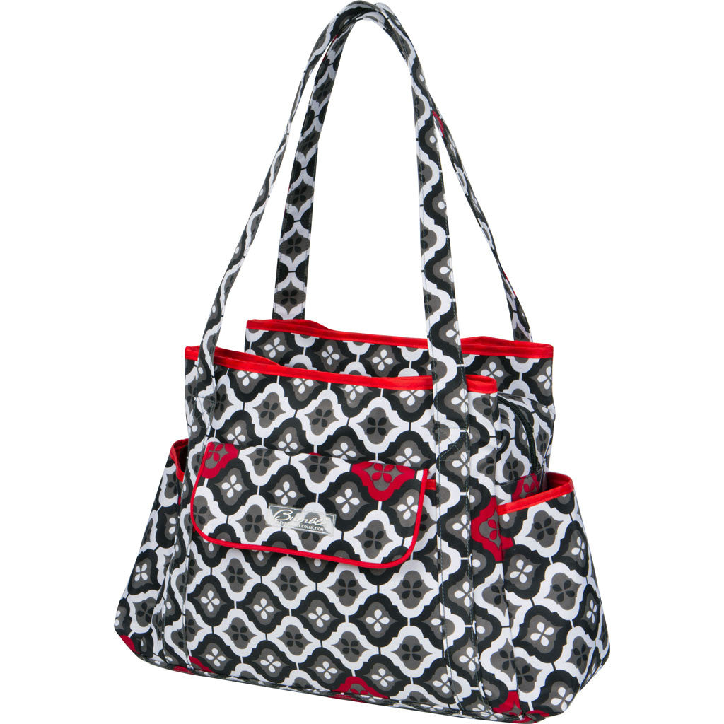 diaper bag tote red