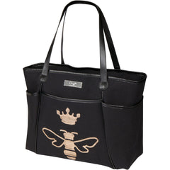 diaper bag sequin tote queen bee