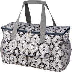 picnic cooler in grey