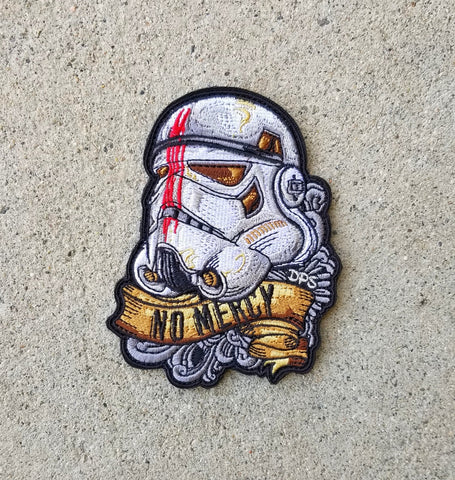 No Mercy Storm Trooper Patch
