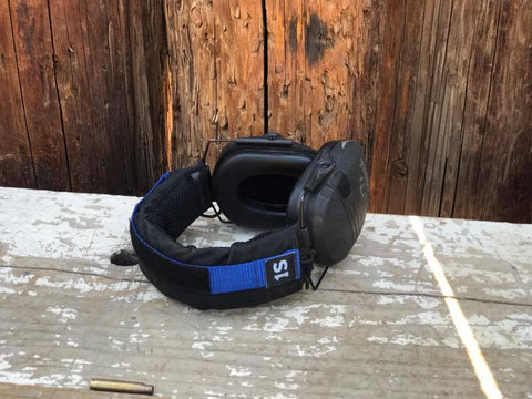 Thin Blue Line Earpro Strap