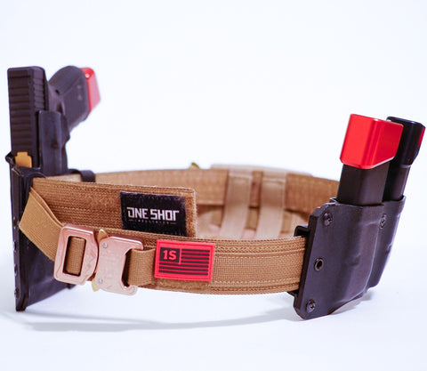 "1.5"" Convertible PewPew® Strap (2 belts system, velcro lining )"