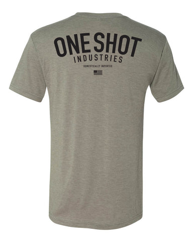 OSI Standard Issue - Tri Blend Standard Shirt Black/Stone Grey