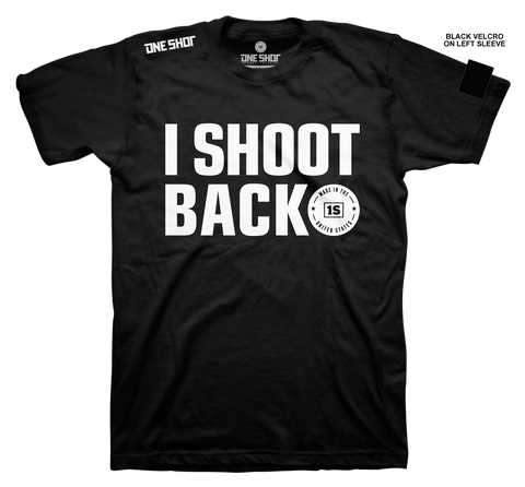 I SHOOT BACK (with sleeve velcro)