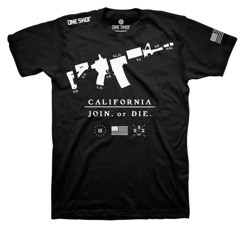 CALIFORNIA - JOIN OR DIE (Standard Shirt)