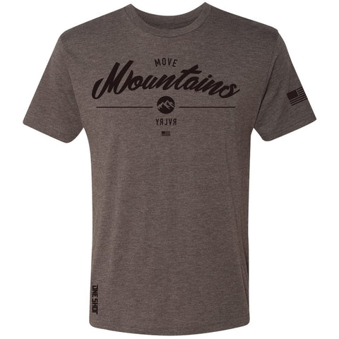 Move Mountains - Tri Blend Standard Shirt