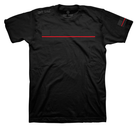 Thin Red Line - Ghost Print Standard Shirt