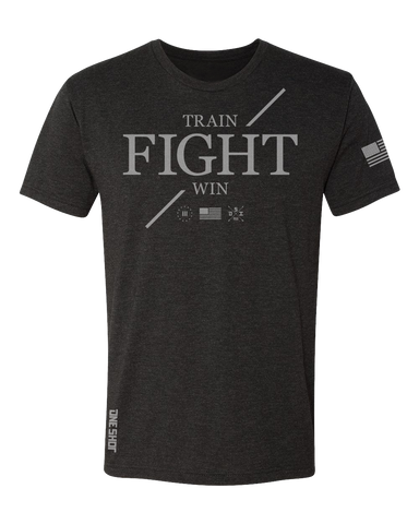 Train Fight Win - Tri Blend Standard Shirt