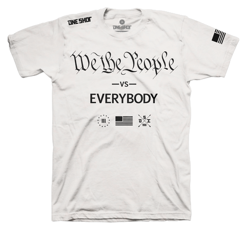 WE THE PEOPLE vs EVERYBODY (Standard Shirt)