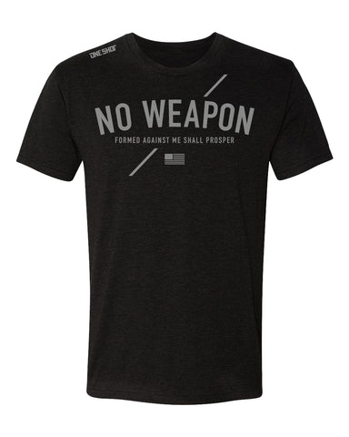 No Weapon - Tri Blend Standard Shirt