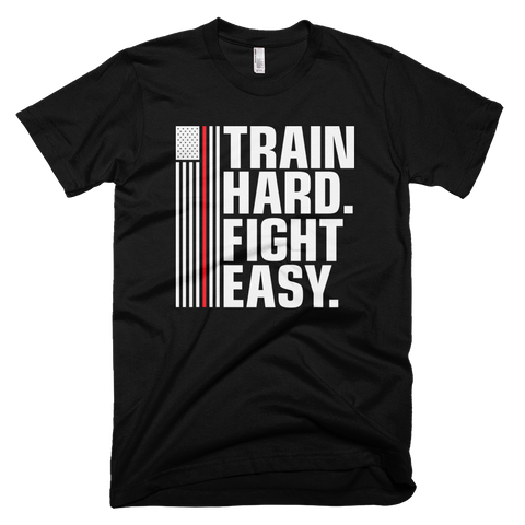 TRAIN HARD FIGHT EASY Limited Edition - REDLINE (Standard Shirt)