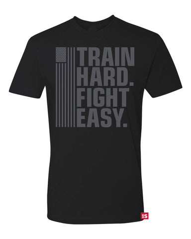 Train Hard Fight Easy  - Red Label Edition (Standard Shirt)