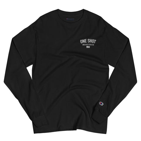 Men's Champion Long Sleeve Shirt - OSI Logo