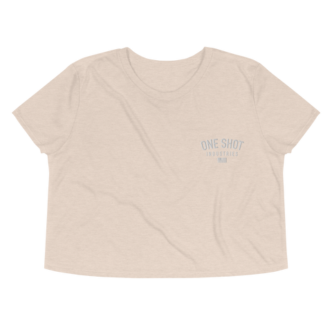OSI Chest Logo Crop Tee - Embroidered