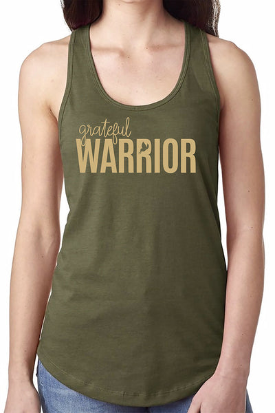 grateful WARRIOR Collectors Tank