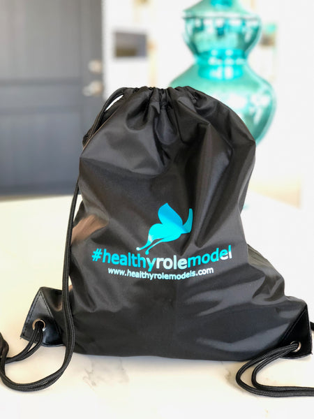 #healthyrolemodel Cinch Bag