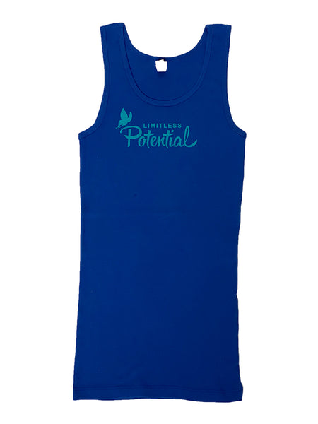 """Limitless Potential"" Collectors Tank *limited quantities & sizes*"