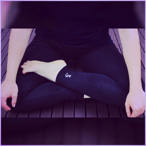 "Mind-Body-Soul ""Ohm"" Yoga Leggings"