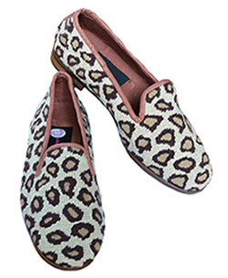 Leopard Needlepoint Loafer