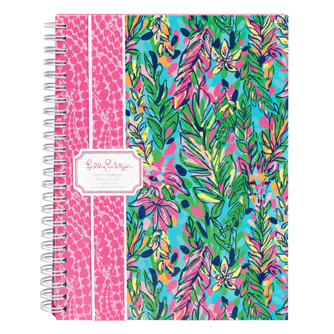 Lilly Pulitzer Mini Notebook - Hot Spot