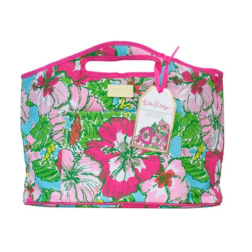 Lilly Pulitzer Oversized Insulated Beverage Bucket in Big Flirt
