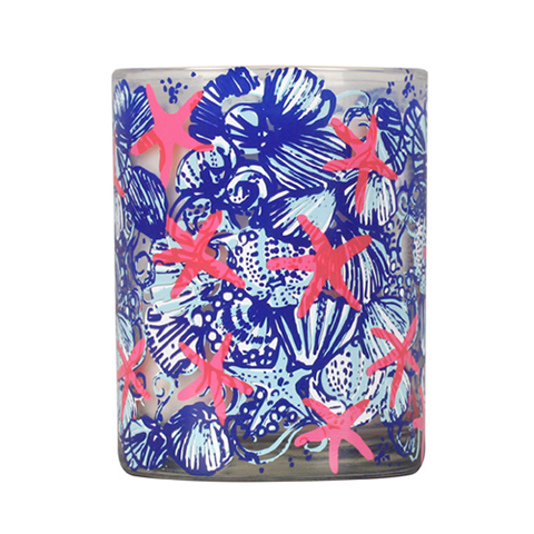Lilly Pulitzer Glass Candle