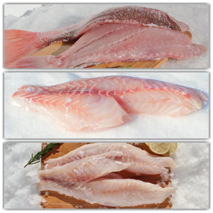 Wild Caught Fresh Fish Fillets