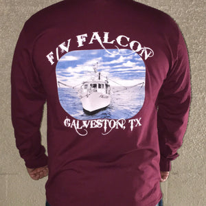 F/V Falcon Long Sleeve Shirts - Katies Seafood Market
