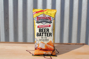 Louisiana Fish Fry Seasoned Beer Batter Mix - Katies Seafood Market