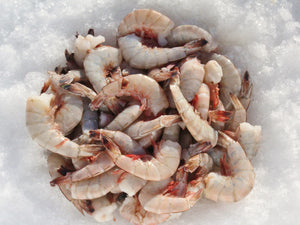 Jumbo Head Off Shrimp 10/15T - Katies Seafood Market