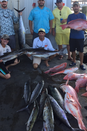 Red Snapper and King Fish Charter