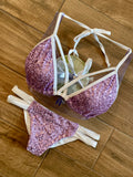 Lavender Sequin Top