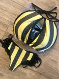 Black & Gold Stripes Bottom