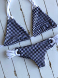 Gingham Summer Top