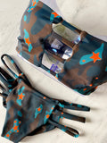 Star Camouflage Bandeau Top